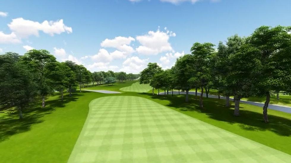 Moruya Golf Club Hole 3