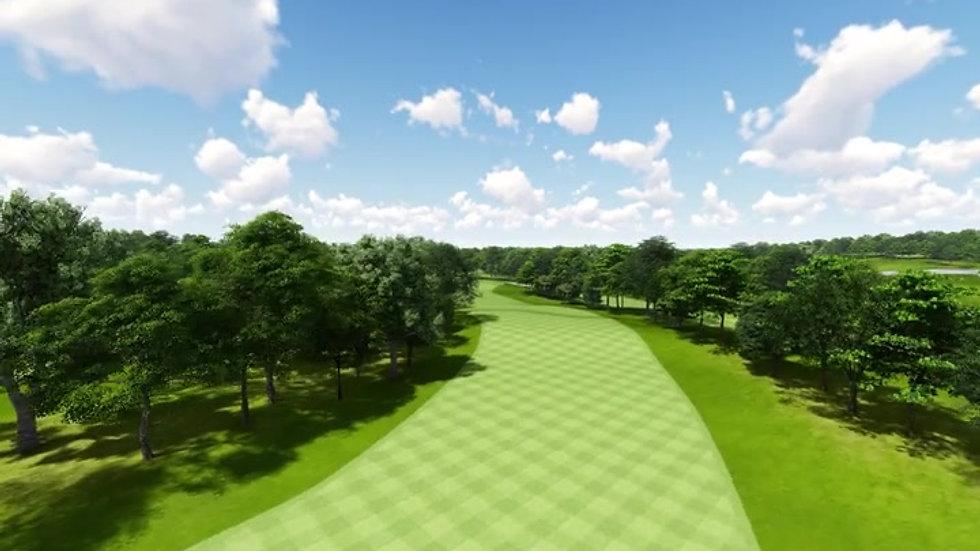 Moruya Golf Club Hole11