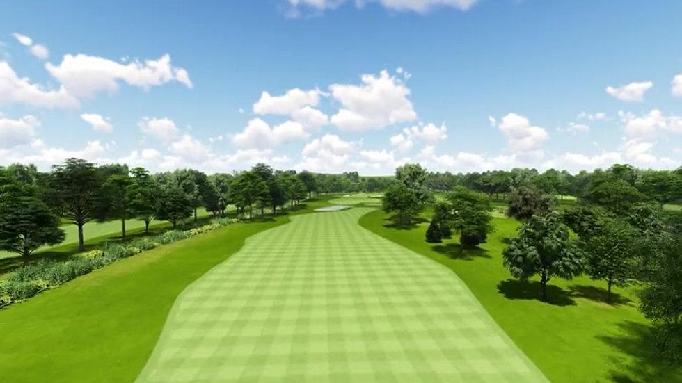 Moruya Golf Club Hole 7