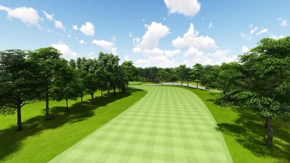 Moruya Golf Club Hole 4