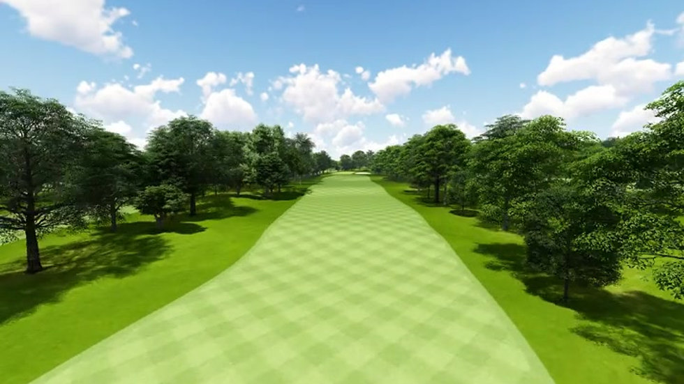 Moruya Golf Club Hole 17