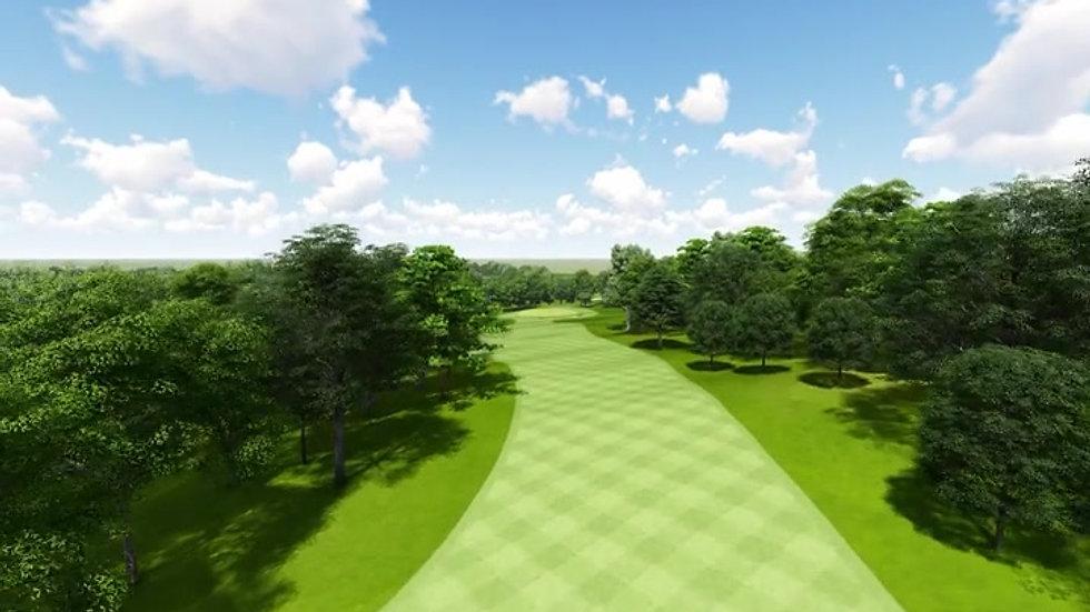 Moruya Golf Club Hole 13