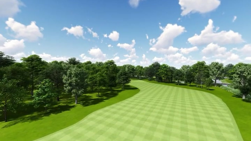 Moruya Golf Club Hole 2