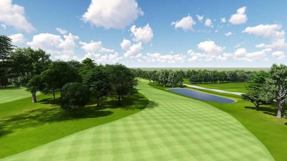 Moruya Golf Club Hole 15