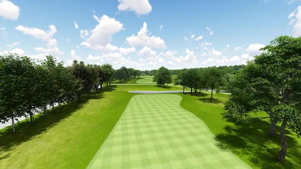 Moruya Golf Club Hole 1