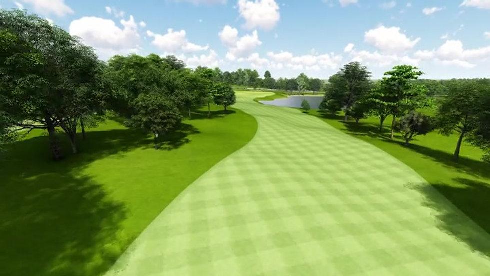 Moruya Golf Club Hole 18