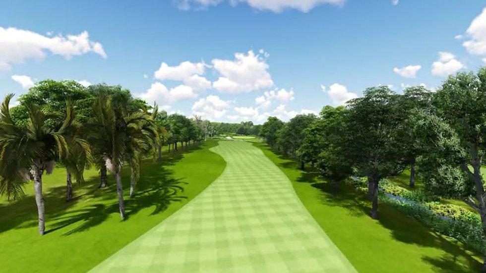 Moruya Golf Club Hole 16