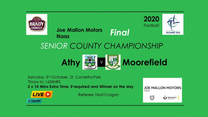 Kildare Senior Football Championship County Final 2020