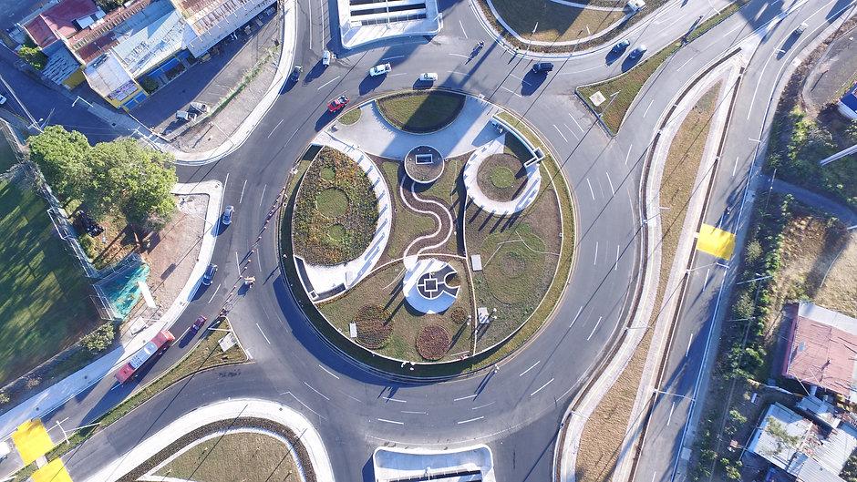 Rotonda y Viaducto Garantías Sociales