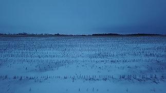 4KCinematicAerial~Sunrise~SnowFields