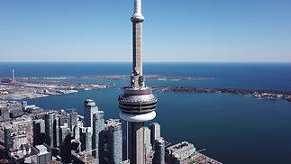 4KCinematicAerial~CN Tower
