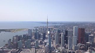 4KCinematicAerial~DollyFront~D.T. Toronto
