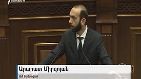 Conflict between Opposition and Prime Minister Nikol Pashinyan.