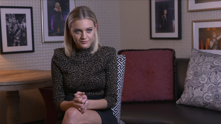 Kelsea Ballerini Opry Induction - Interview - Associated Press