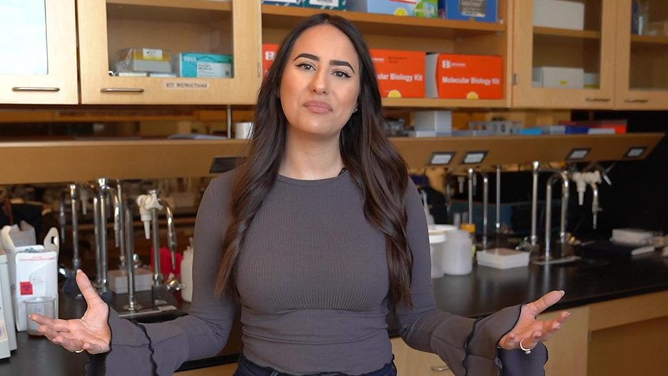 Sarah Habibi My Ontario Tech Story