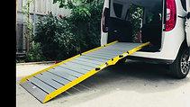 Wheelchair Van Ramps in Use / Fiat Doblo
