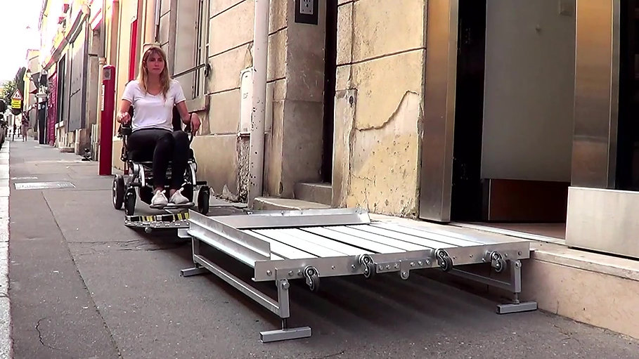Portable Wheelchair Platform & Ramp