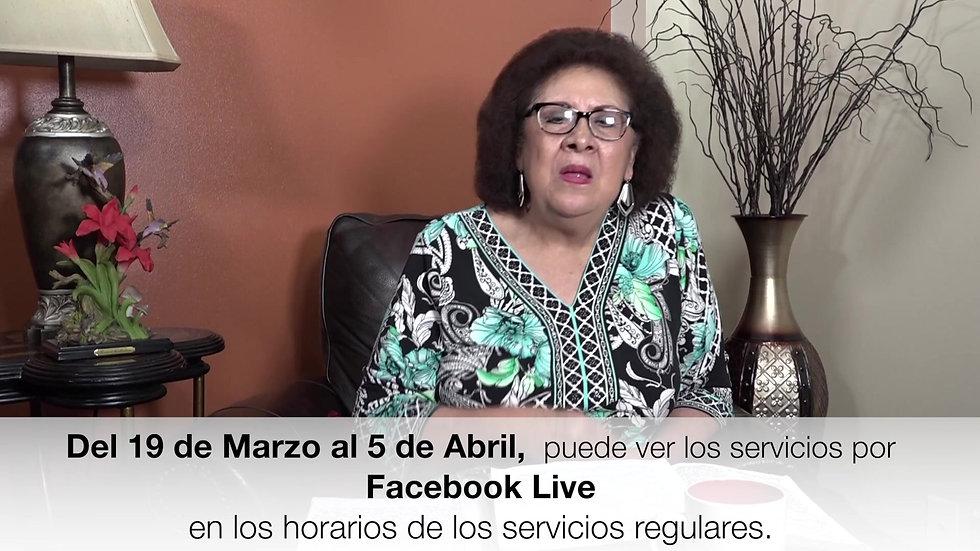 Anuncio Importante  Pastora Carmen Gil