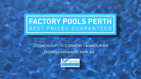 Factory Pools Perth TVC