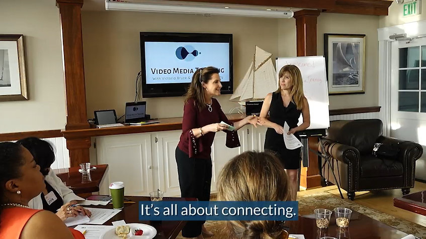 Video Media Training in Annapolis, Maryland with Victoria Bruce