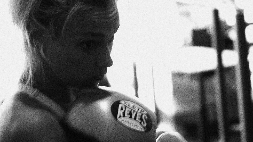 Kate Farley | Girl Boxer with CP