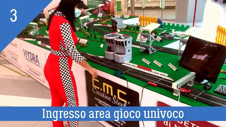 GP F1 MONZA SLOT PRESIDI ANTI COVID 19 CON INFO