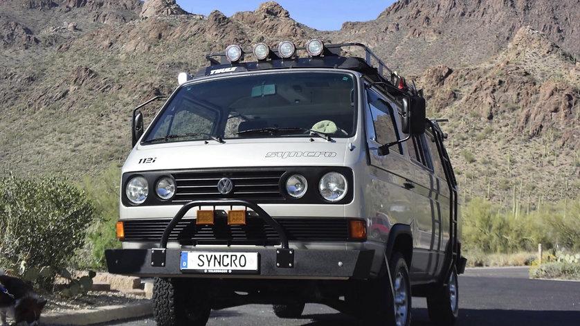 VW Syncro Camper