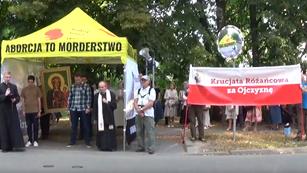 Pokutny Marsz Różańcowy ulicami Warszawy 14.07.2019