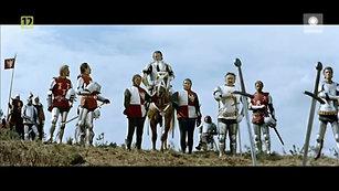 Bitwa pod Grunwaldem. Dwa nagie miecze.