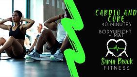 Cardio + core #17