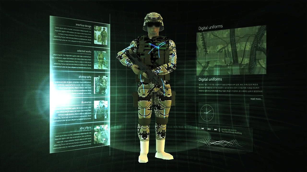 스마트군복및 작전