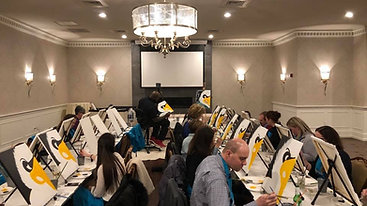 Wine & Paint Night 2019