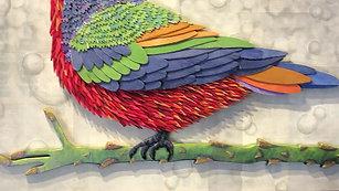 Bunting and Mockingbird
