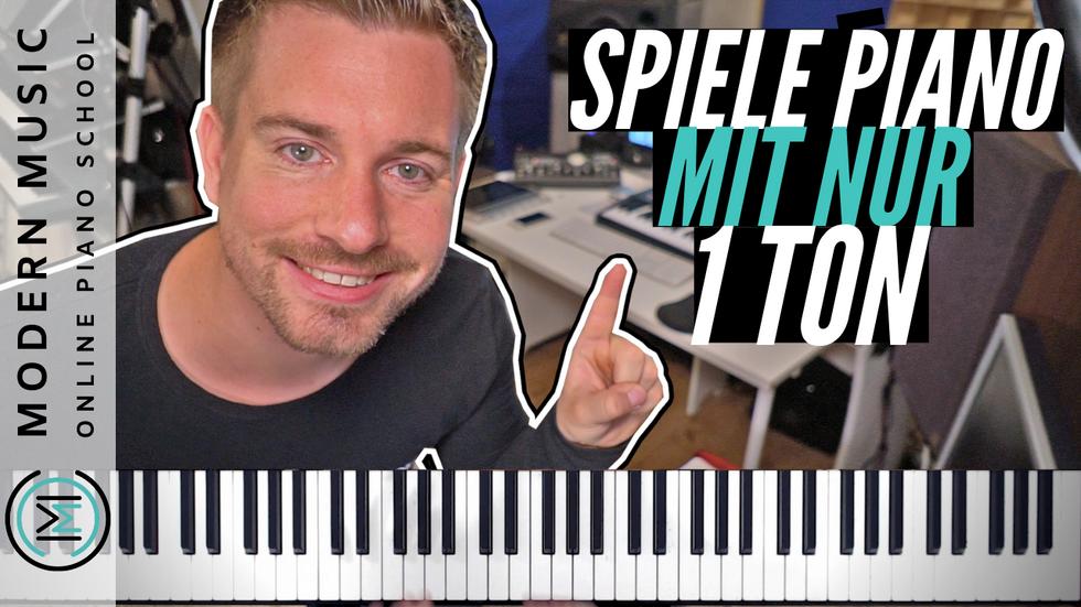 Kostenloser Pop Piano Crashkurs Lektion 2