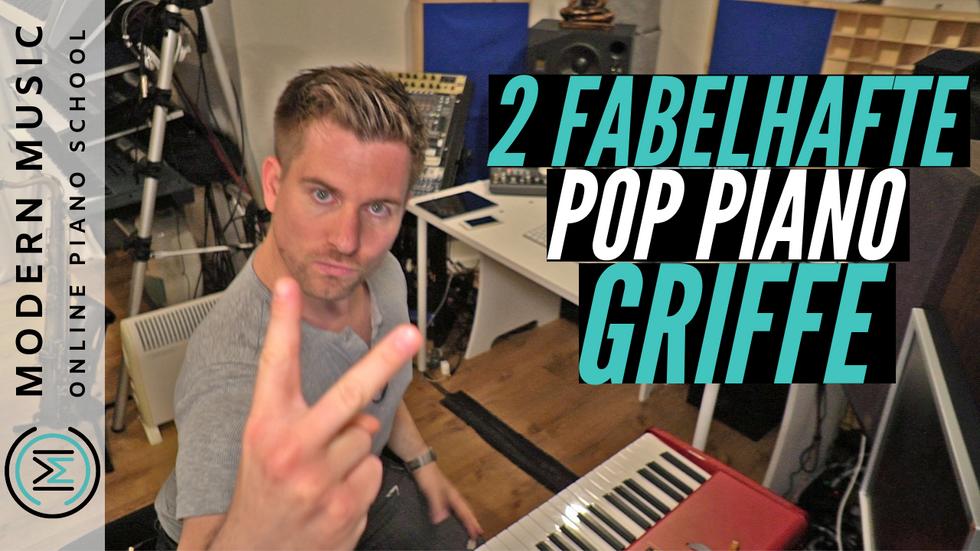 Kostenloser Pop Piano Crashkurs Lektion 3