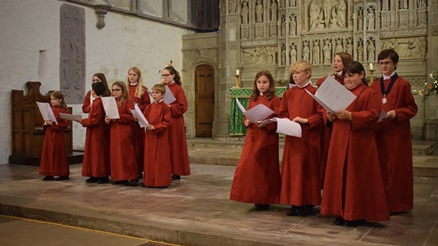 Brecon Cathedral Choristers - Grenfell From Today