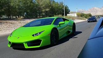2019 Lamborghini Las Vegas Run