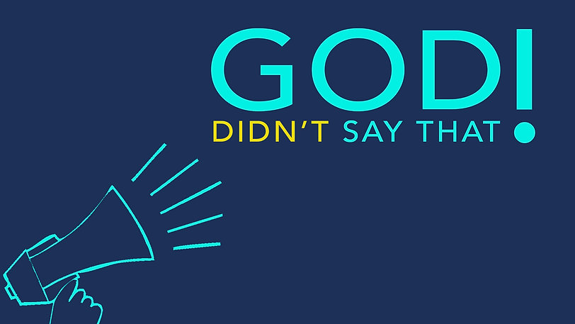 God Didn't Say That Session 2 Worship