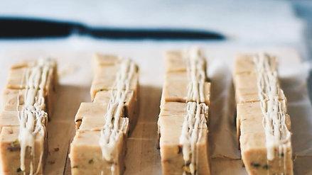 White Pistachio Fudge With Borna Foods