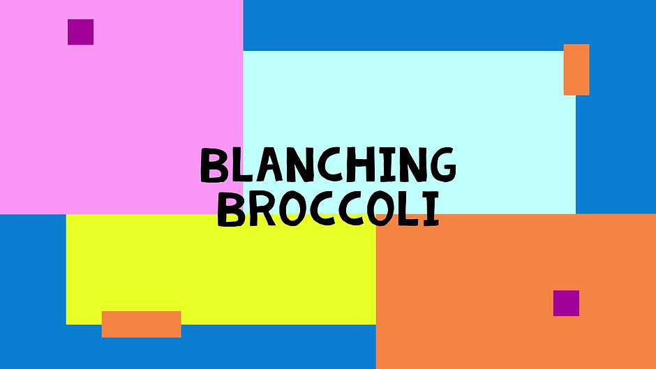 How To Blanch Veggies