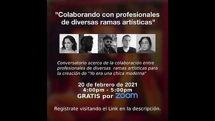 Conversatorio: Colaborando con diversos artistas