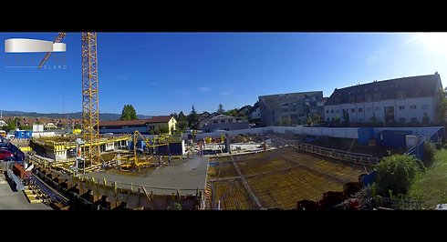 Timelapse chantiers de construction