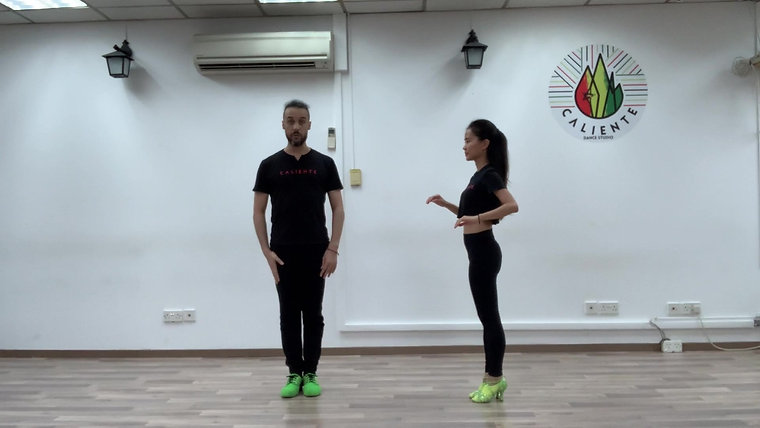 Salsa Solo Dance Basics and Improver