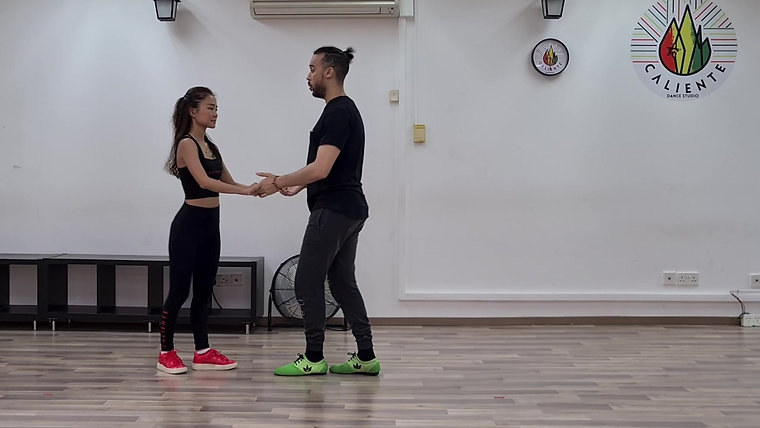 Salsa Basic Introduction - Solo and Partner Dance