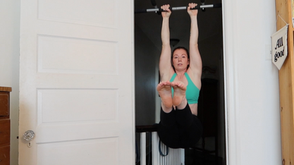 Pull-up Bar Workout for Better Inversions