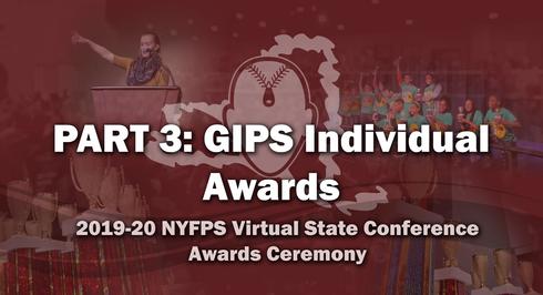 NYFPS Virtual State Bowl - GIPS Individuals Awards
