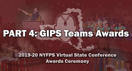 NYFPS Virtual State Bowl - GIPS Teams Awards