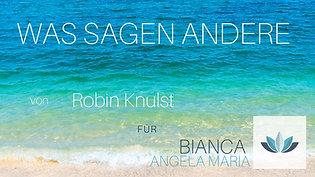 WAS SAGEN ANDERE - Robin Knulst