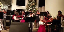 Entire Sešek String Studio performing Mother Ginger