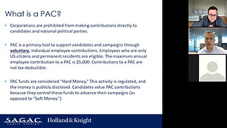 Political Engagement Boot Camp Series – Part 1: Political Action Committee (PAC) Overview